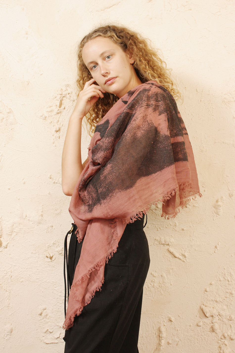 Cashmere Printed Scarf