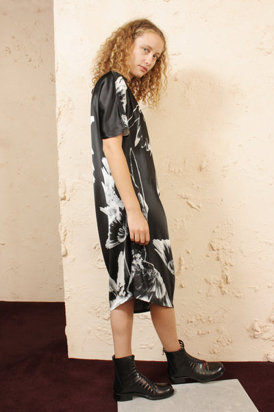 Archive Bird Print Dress