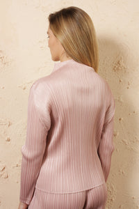 Turtle Neck Top Pink