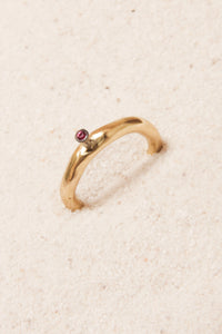 Seiko Copper Ruby Ring
