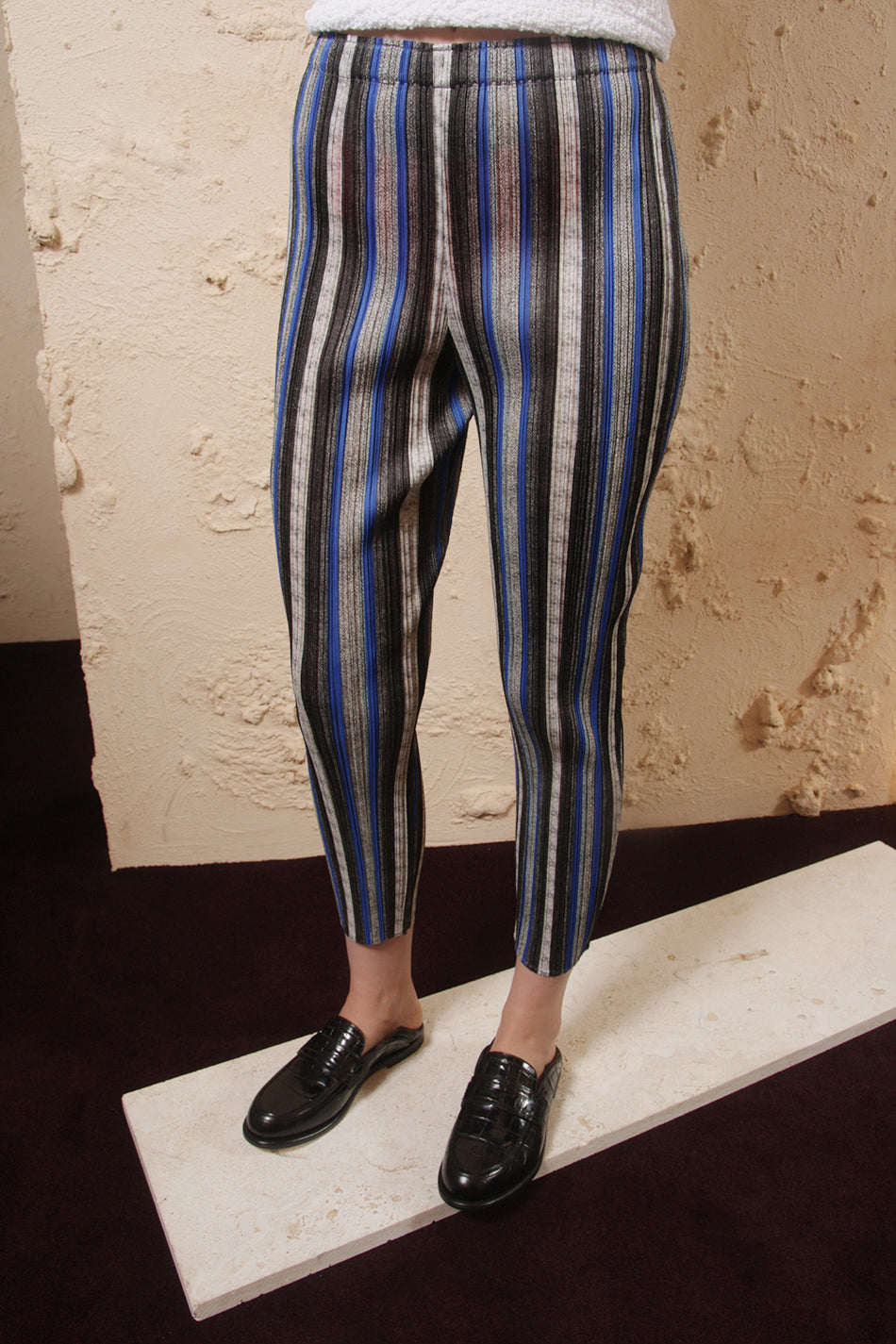 Slim Striped Trouser
