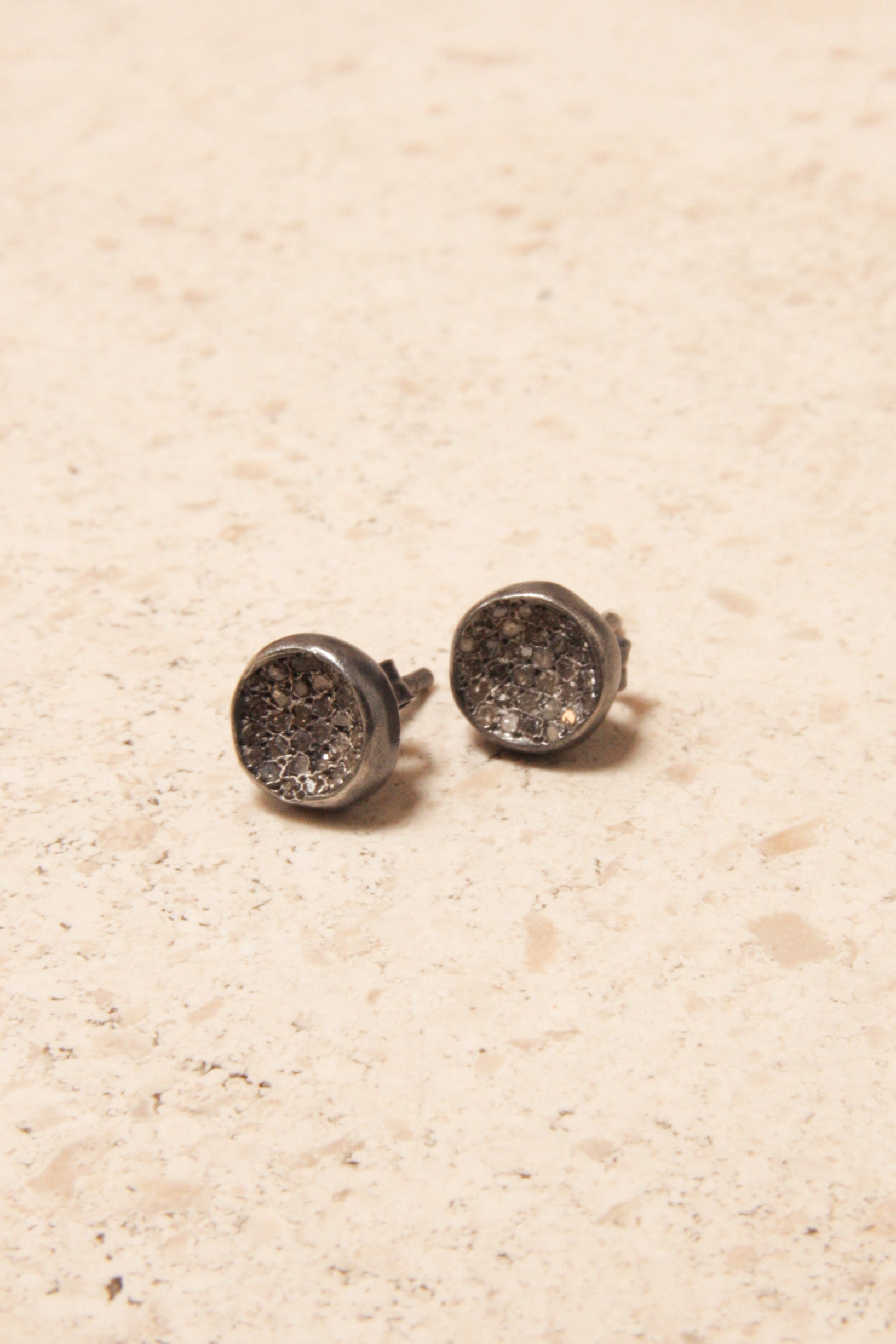 Belquis Icy Grey Diamond Earrings