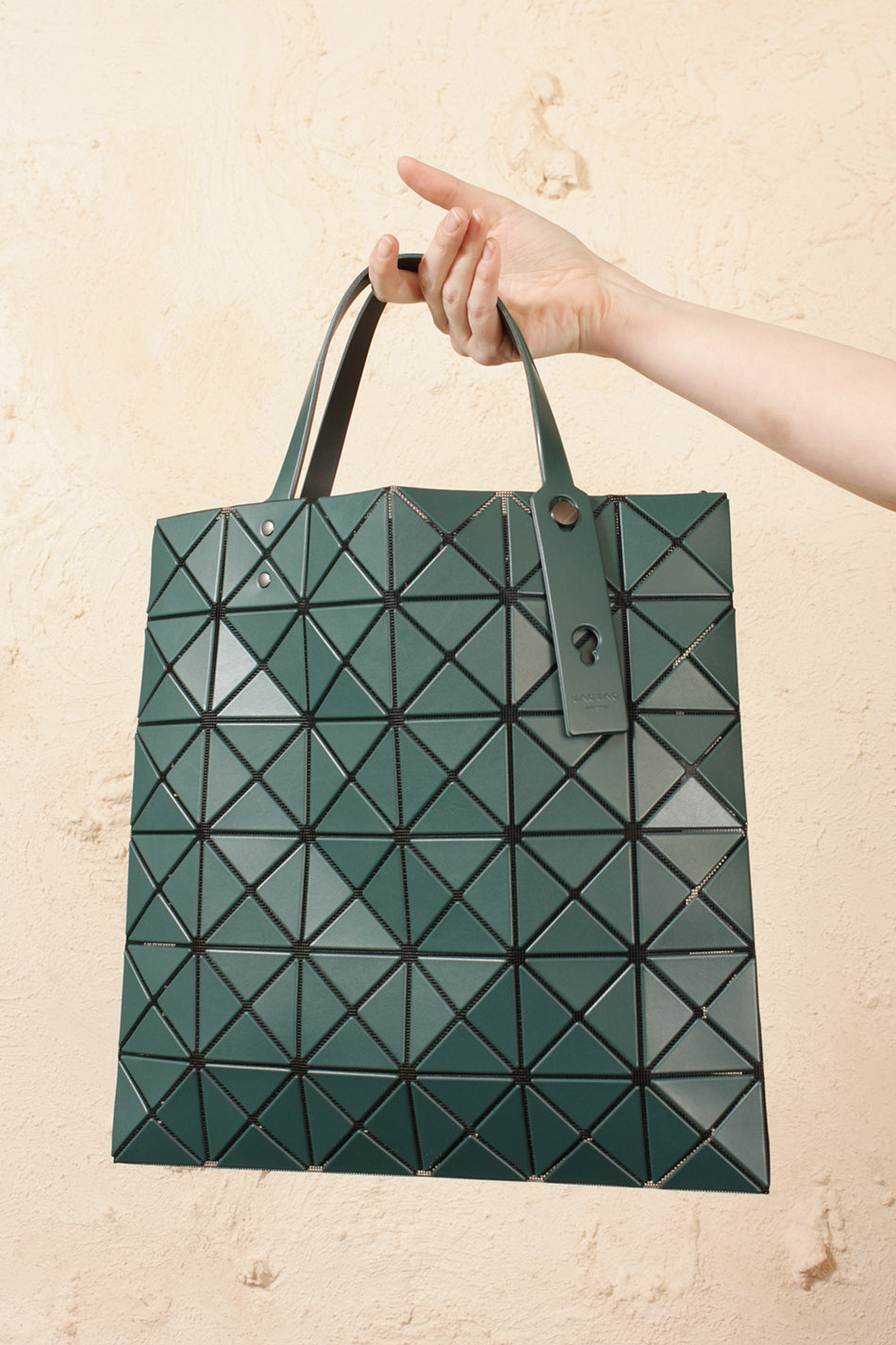 Lucent Matte Medium Tote Teal