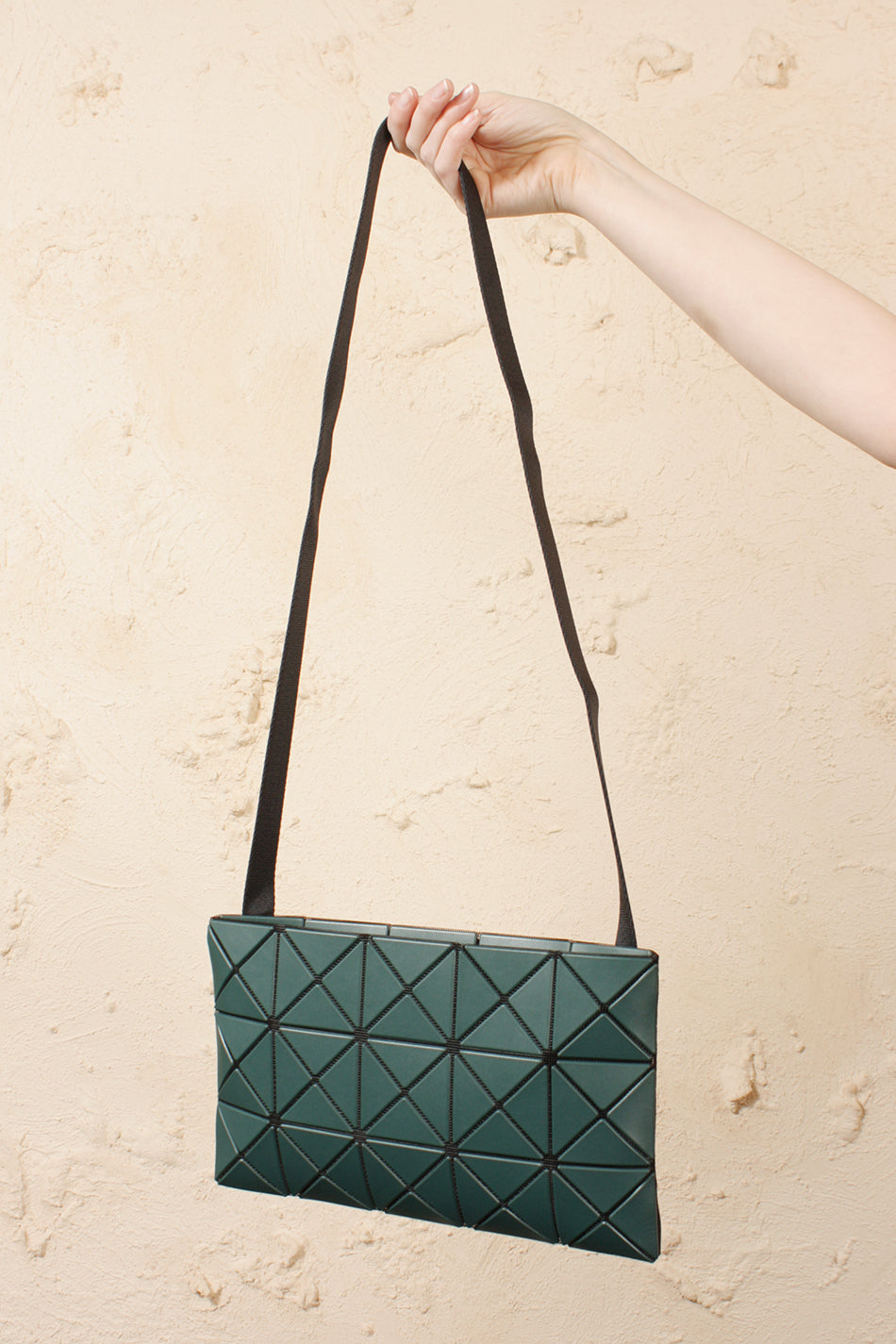 Lucent Matte Cross Body Teal