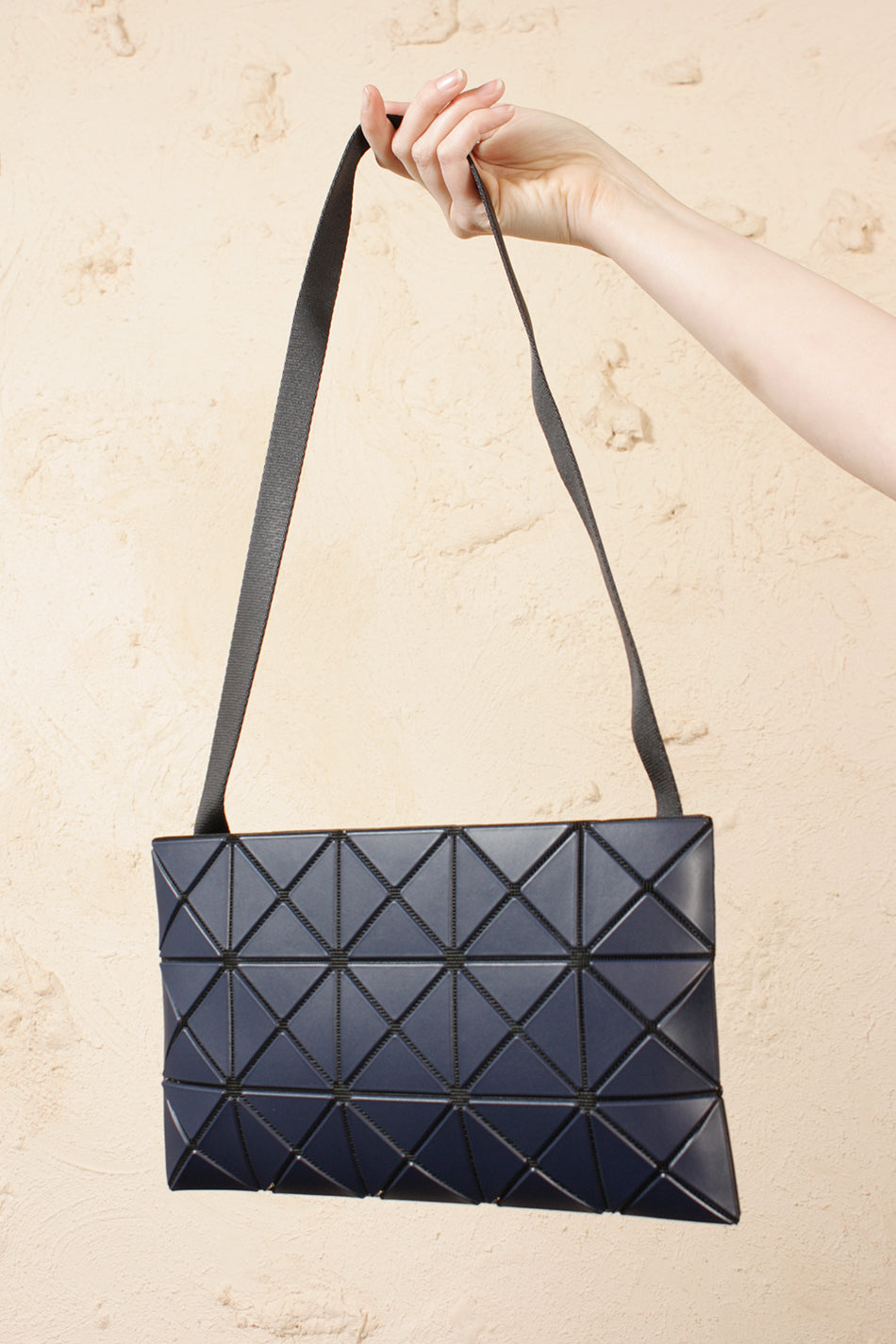 Lucent Matte Cross Body Navy