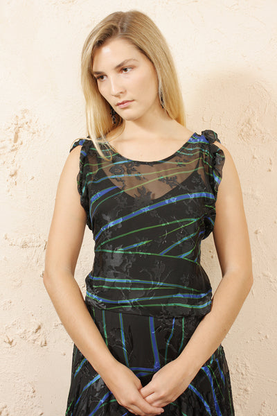 Ermin Stripe Dress
