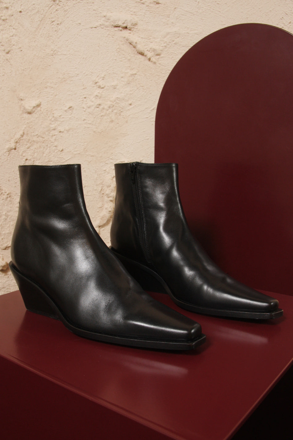 Vitello Nero Shoes