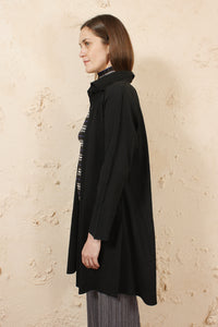 Apoc Long Cardigan Black