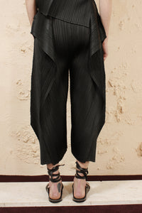 Draped Pants Black