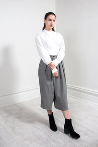 Check Cropped Pant