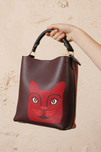 T Bucket Cat Small Bag