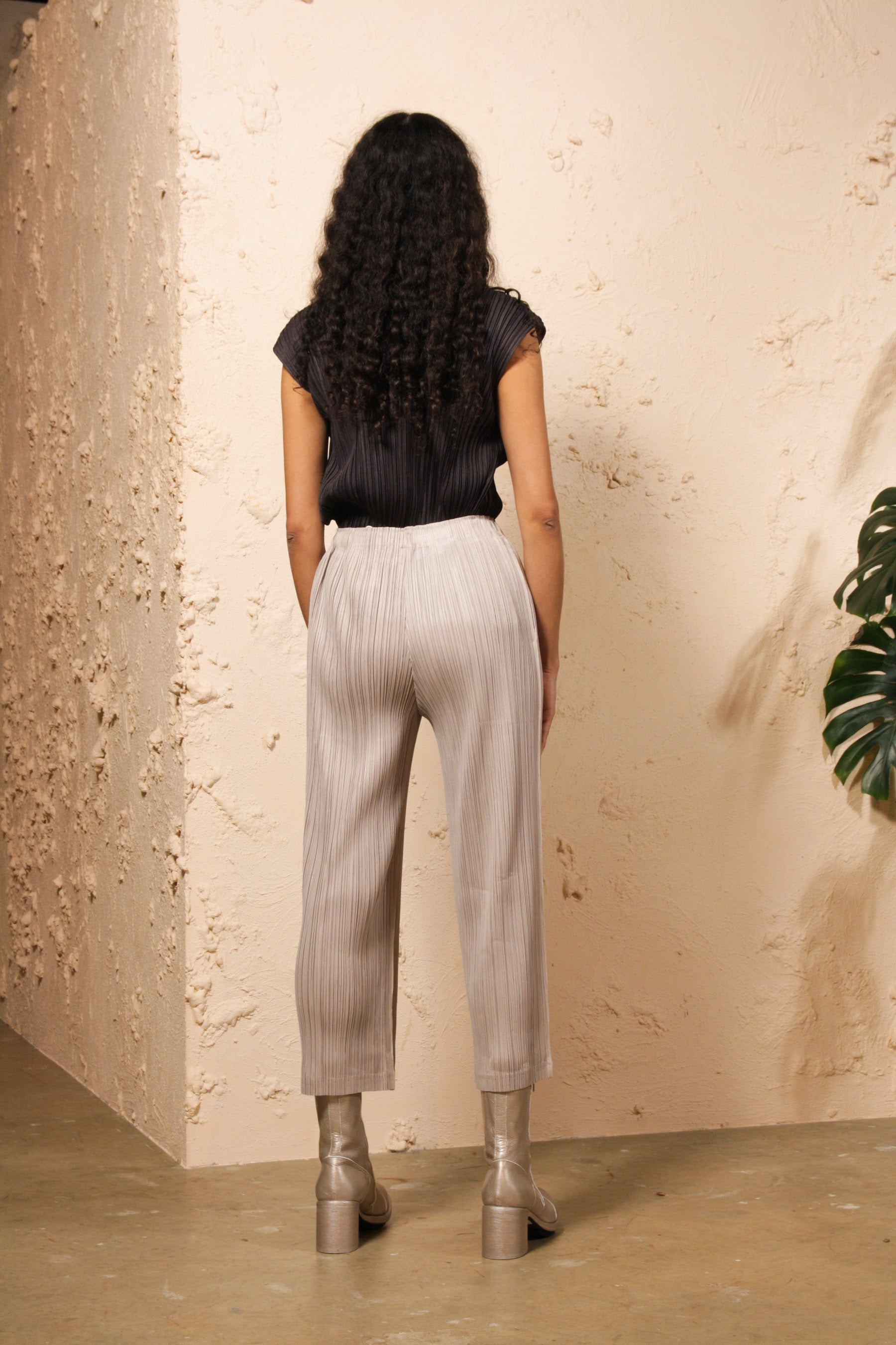 Straight Trouser Taupe