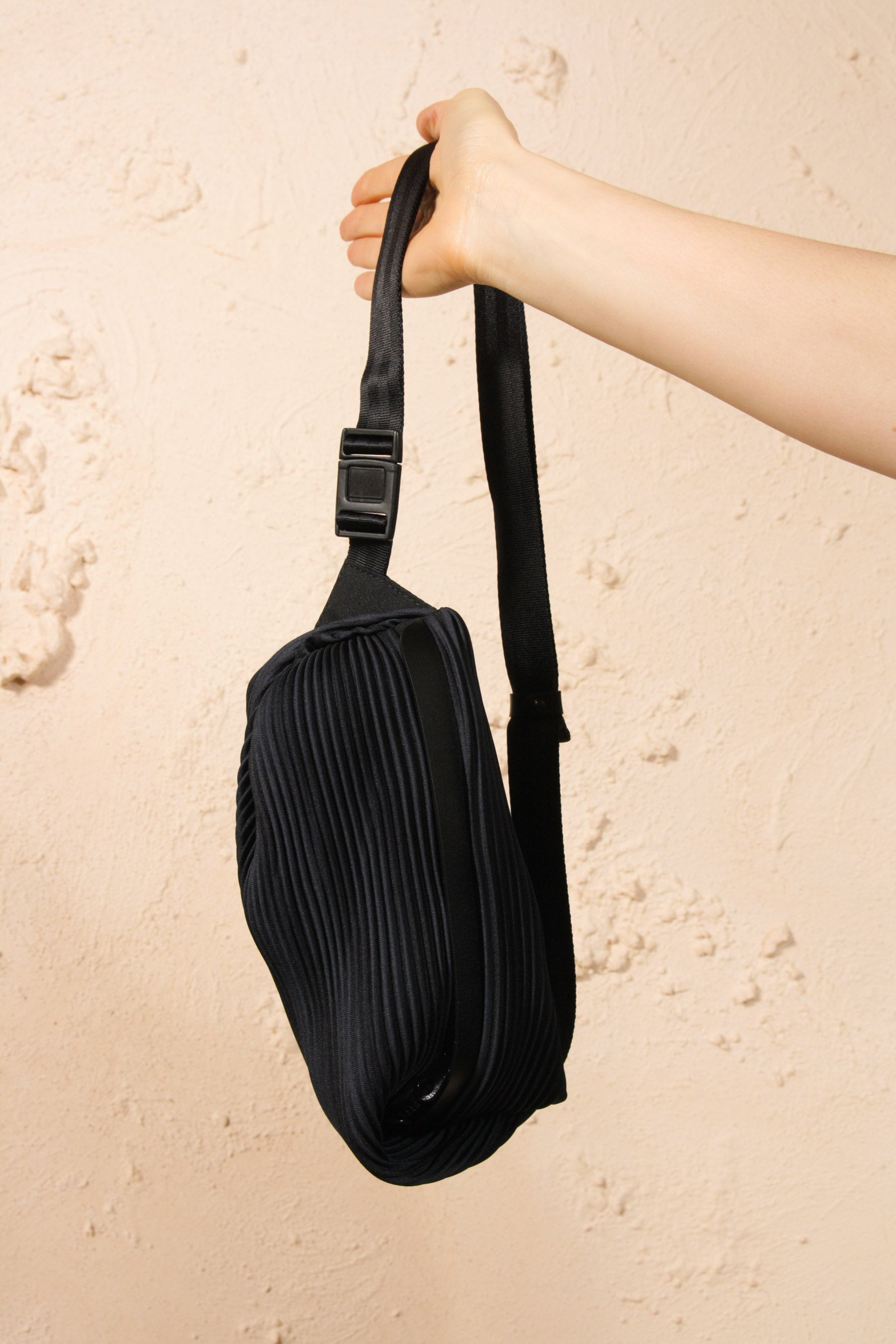 Pleated Bumbag