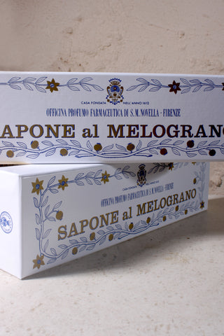 Melograno (Pomegranate) Soap Box of 3