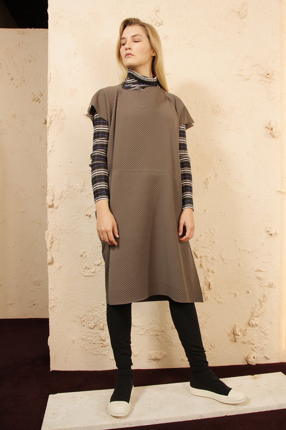 Arrow APOC Dress Taupe