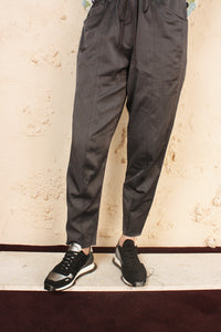 Raw Panelled Track Pant