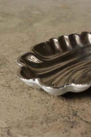Coquillage Small Dish Platinum