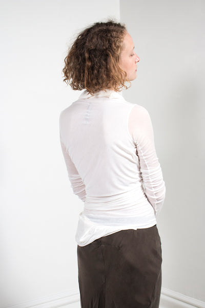 Long Sleeve Drape Top