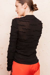 Kolton Ruffle Sweater