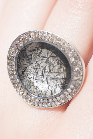 Flavie Rutilated Quartz Ring