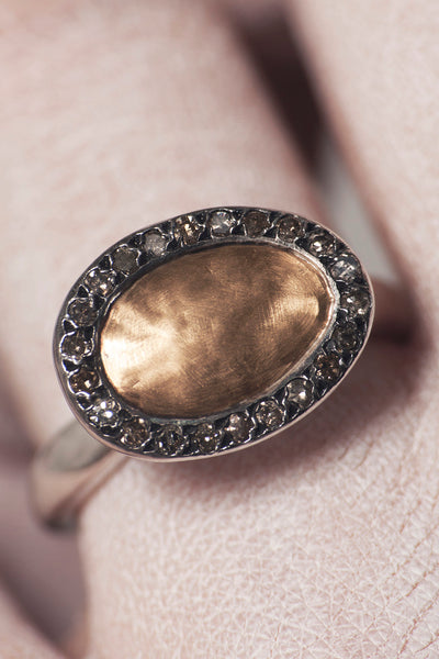 Touria Gold Centre Ring