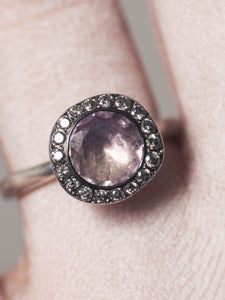 Beril Ametrine Quartz Ring