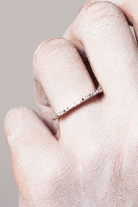 Zohra Grey Diamond Ring