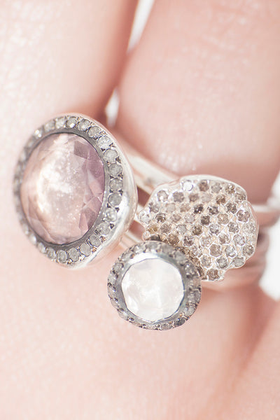 Belquis Pink Quartz Ring