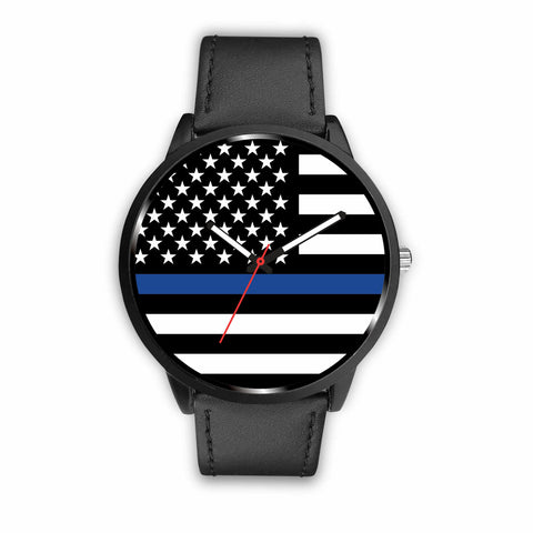 Blue Line - police and law enforcement support watch