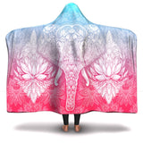 Mandala Elephant Limited Edition No. 1 - Hooded Blanket