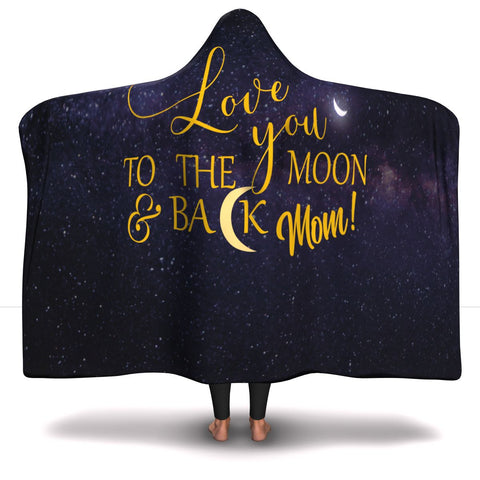 Mothers Day Gift - Love you to the moon and back Mom