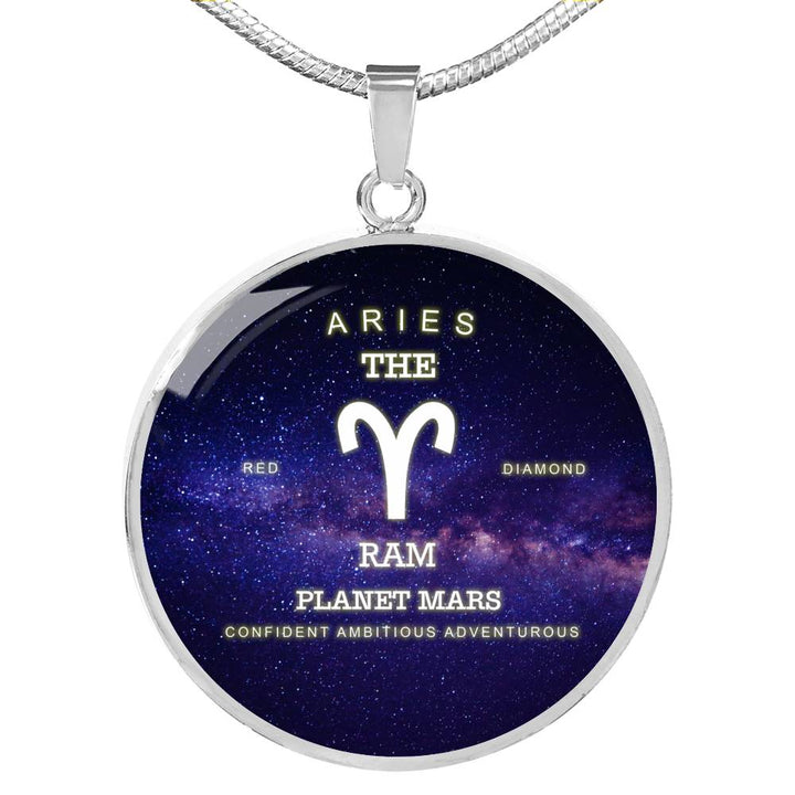 Aries Zodiac Sign - Awesome Necklace