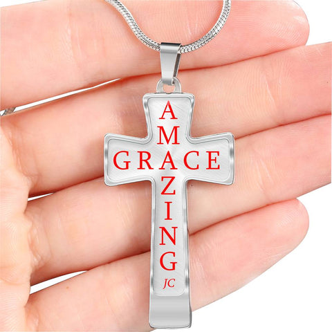 Amazing Grace - Awesome JC Cross Necklace