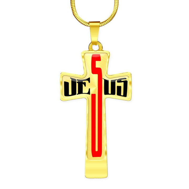 Jesus Christ - Awesome Cross Necklace