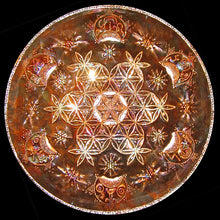 Freestyle Flower of Life Copper Lightmandala