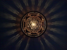 Sri Yantra Copper Lightmandala