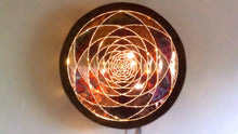 Golden Ratio Copper Lightmandala