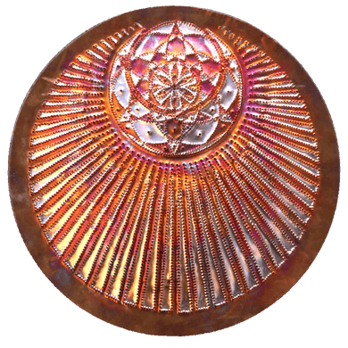 El Circle Copper Lightmandala