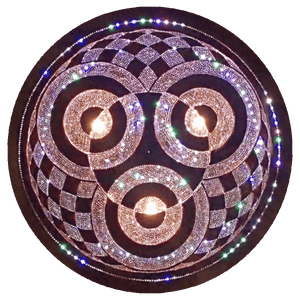Ahau Copper Lightmandala