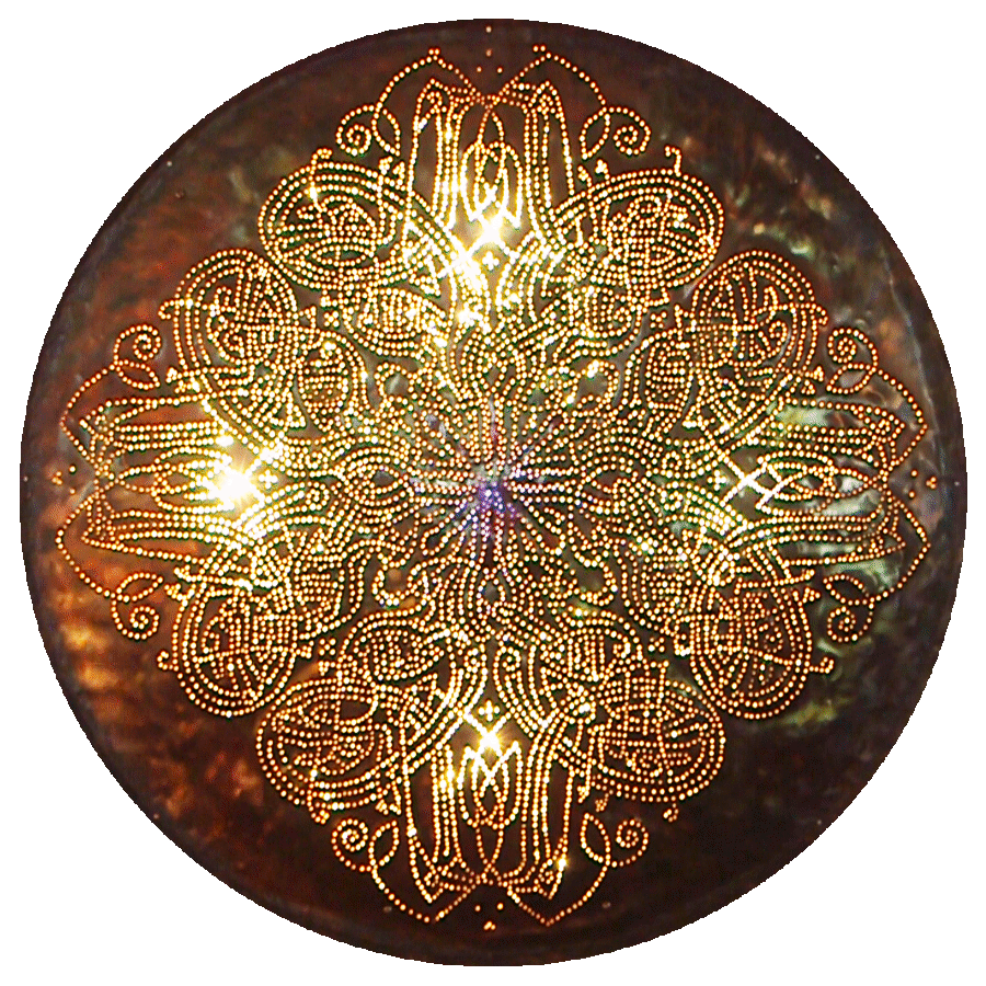 Celtic 8 Copper Lightmandala