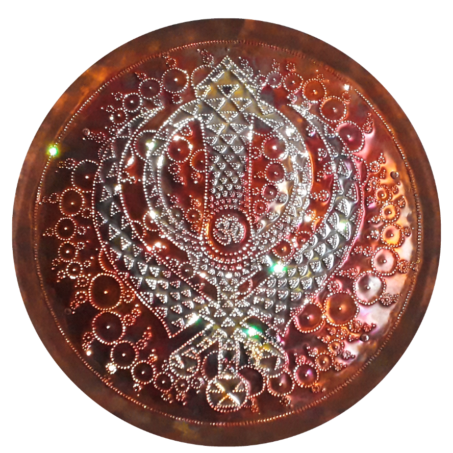 Sri Khalsa Copper Lightmandala