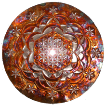 Rose of Life Copper Lightmandala