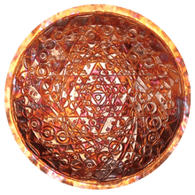 Shiva Shakti Copper Lightmandala