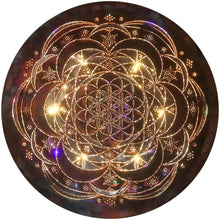 Rose of Life II Copper Lightmandala