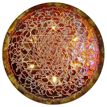 Maha Shakta Chakradar Copper Lightmandala