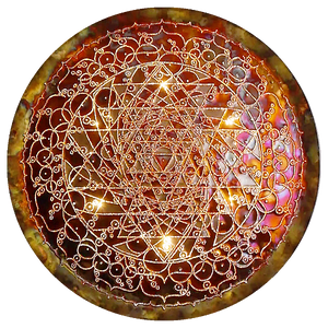 Shakti Wheel Copper Lightmandala