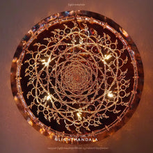 Golden Ratio Spiral Copper Lightmandala