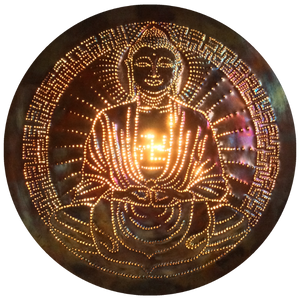 Buddha Copper Lightmandala