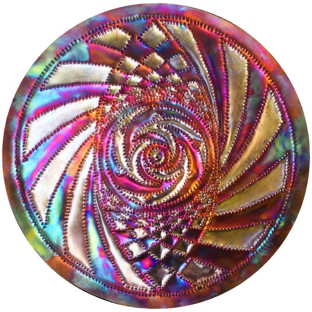 Third Dolphin Copper Lightmandala