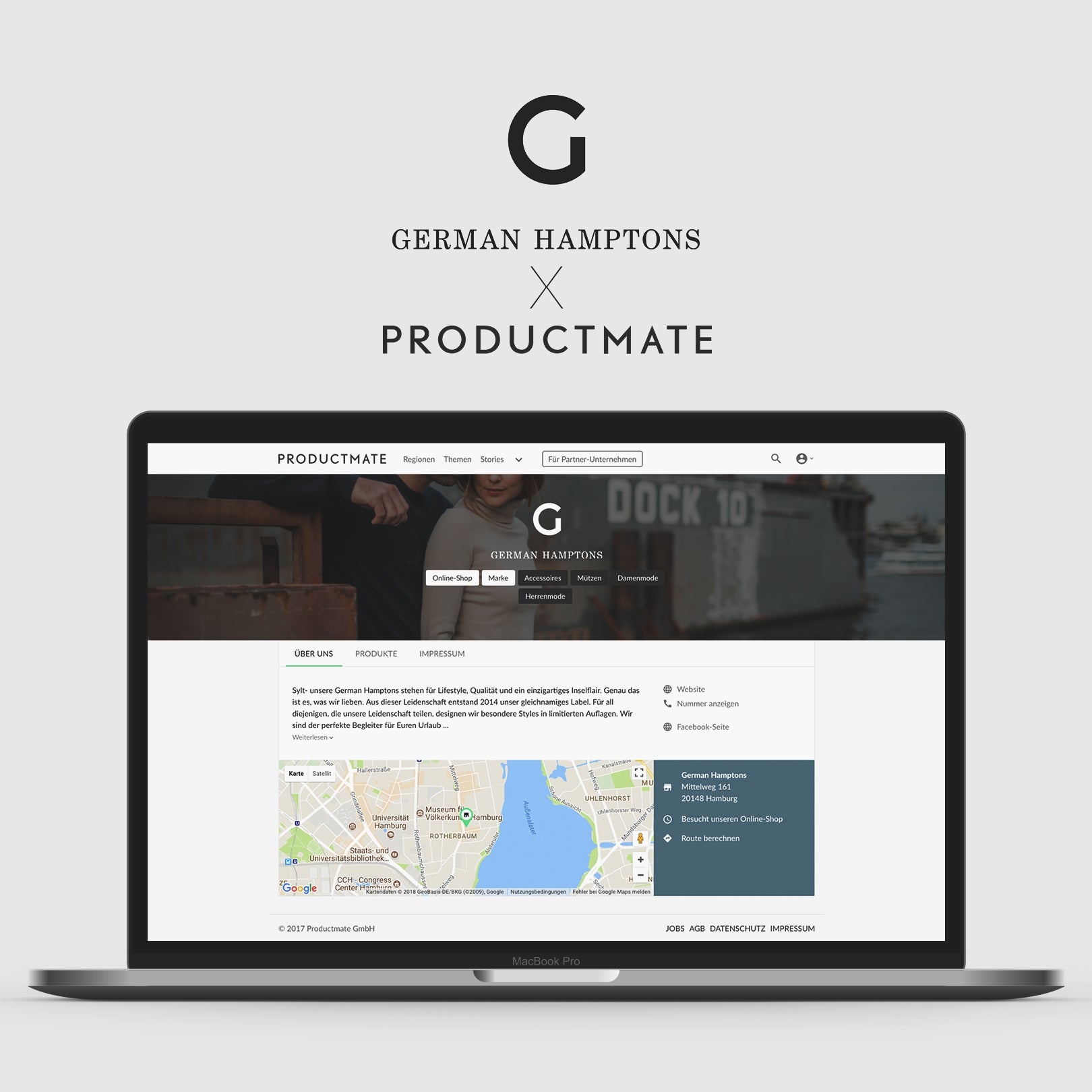German Hamptons x Productmate